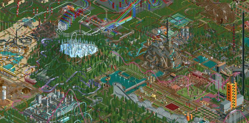 [feature] Ik speel nog steeds… Rollercoaster Tycoon!